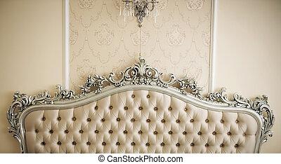 luxe, intérieur
