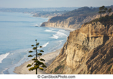Torrey Pines Beach and Coastline - Torrey Pines Beach and...