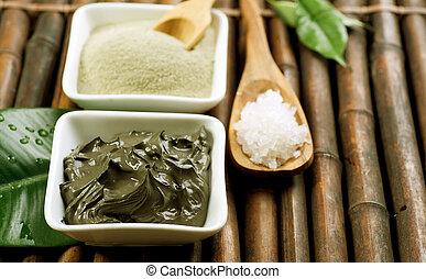Spa Mud and Sea Salt