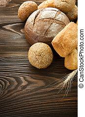 panificadora, borda, pão