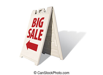 Big Sale Tent Sign - Big Sale Tent on a white background.