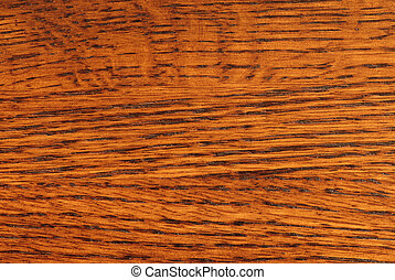 Quarter Sawn Oak - Close-up of Quarter Sawn Oak