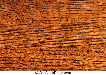 Quarter Sawn Oak - Close-up of Quarter Sawn Oak