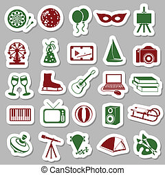 entertainment stickers