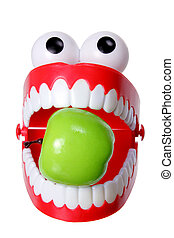 Chattering Teeth with Apple