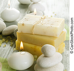 Natural Spa Treatments. Handmade Soap