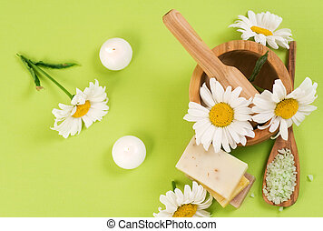 Spa Treatments With Chamomile