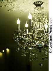 Classic Crystals Chandelier