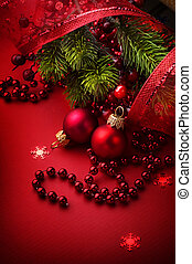 Christmas and New Years Greeting Card design