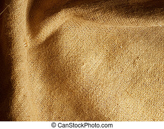Texture of sack Burlap background