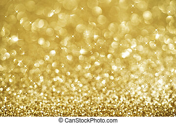 navidad, dorado, brillo, Plano de fondo, feriado, oro,...