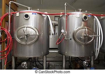 moderno, interieur, Cervecería