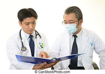 Doctors Confer Together