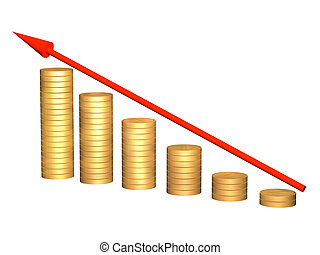 Growth of money resources - Conceptual image - growth of...