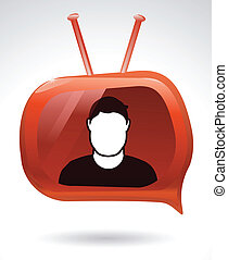 Your Tube Channel - Person has a voice through his personal...