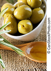 Olives and Virgin Olive Oil