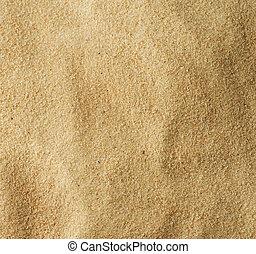 Areia, textura