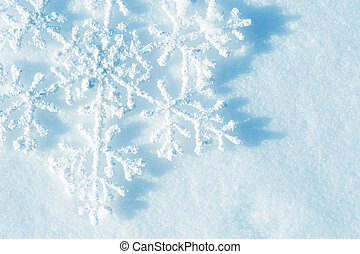 Snowflakes Winter Snow Background Christmas