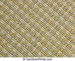 Handcraft reed weave texture