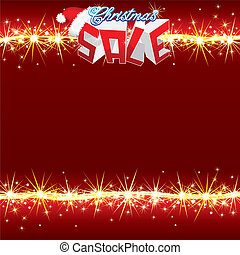 Christmas Sale Poster Vector - Christmas Sale Poster Vector