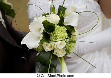 wedding bouquet - Flowers of the bride