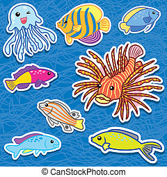 cute sea animal stickers9 - cute sea animal stickers