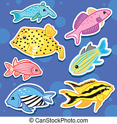 cute sea animal stickers11 - cute sea animal stickers
