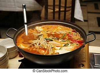 Korean soup - Delightful healthy Asian kitchen - magnificent...