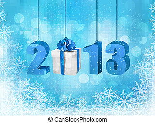 Happy new year 2013  New year design template  illustration