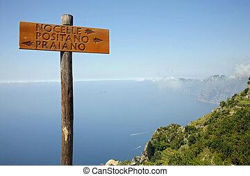Path of the gods - Positano Neaples, Italy