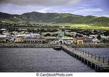 Welcome to St. Kitts - The port of St. Kitts in the...