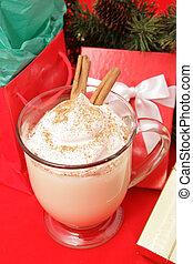 Eggnog and Christmas Presents