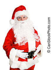 Stock Photo of Friendly Santa Claus