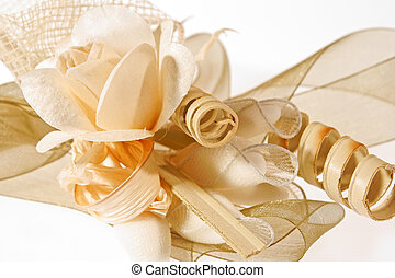 Wedding favor - Close-up of a wedding favor composed of...