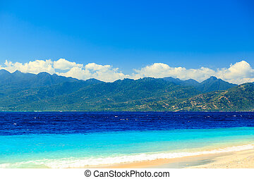 Summertime at the beach Travangan gili