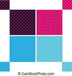 Pattern seamless polka dot background