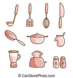 gotowanie, przybory