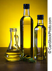 Olive Oil  - Olive oil and olives