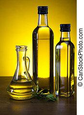 Olive Oil  - Olive oil and olives