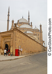 Muhamed Ali mosque in Saladin citadel, Egypt