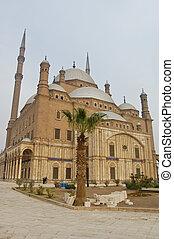 Muhamed Ali mosque in Saladin citadel, Egypt