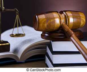 Law and justice concept,gavel