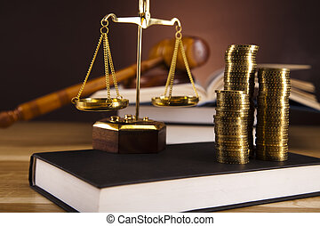 escalas, Justicia, ley