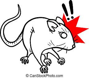 Surprise mouse - Creative design of surprise mouse