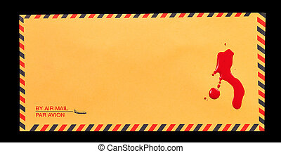 Blood on the Mail