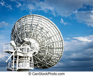 radio telescope - near berlin - germany