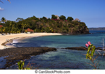 andilana beach's house - nosy be ,andilana beach, madagascar...