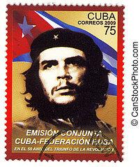 Cuba, -, hacia, 2009, :, Ernesto, Che, Guevara, -,...