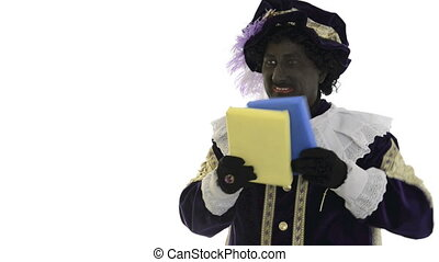 Zwarte Piet is hiding