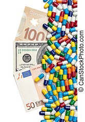 Money and Medicine - American, Canadian and European...